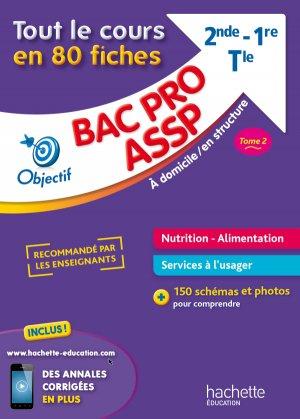 Fiches Bac pro ASSP Nutrition-Alimentation - hachette - 9782017014263 -