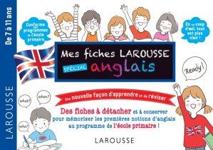 Fiches de révision Cycle 3 anglais - larousse - 9782035963574 -