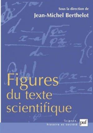 Figures du texte scientifique - puf - presses universitaires de france - 9782130522348 -