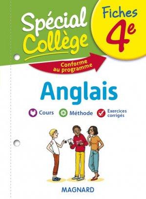 Fiches Anglais 4e Spécial Collège - Magnard - 9782210758483 -