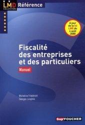 Fiscalité des entreprises et des particuliers - Sup'Foucher - 9782216110421 -