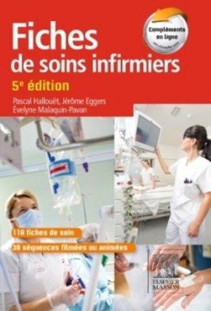 Fiches de soins infirmiers: Pascal HALLOUËT, Jérôme EGGERS