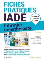 Fiches IADE - elsevier / masson - 9782294756870 -