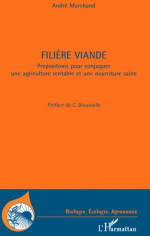 Filière viande - l'harmattan - 9782296547780 -