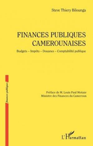 Finances publiques camerounaises - l'harmattan - 9782343215730 -