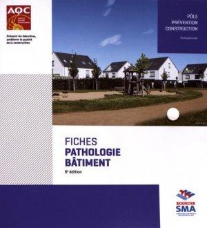 Fiches pathologie bâtiment - agence qualité construction editions - 9782354436131 -