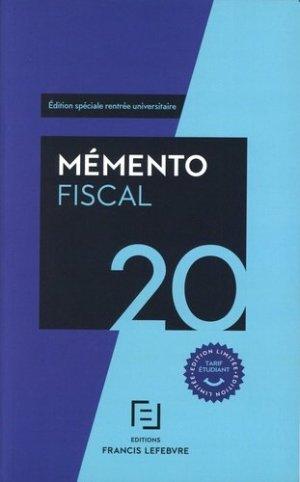 Fiscal étudiants - Francis Lefebvre - 9782368935224 -