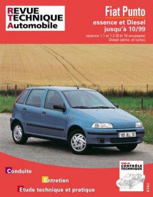 Fiat Punto moteurs essence 1.1 et 1.2 moteur turbo Diesel - etai - editions techniques pour l'automobile et l'industrie - 9782726856611 -