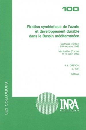Fixation symbiotique de l'azote et développement durable dans le Bassin méditerranéen - inra  - 9782738010650 -