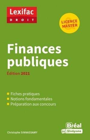 Finances publiques 2021 - Bréal - 9782749550565 -