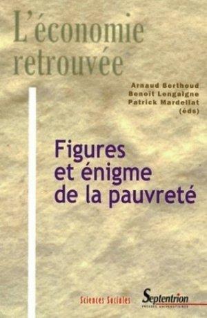 Figures et énigme de la pauvreté - Presses Universitaires du Septentrion - 9782757400951 -