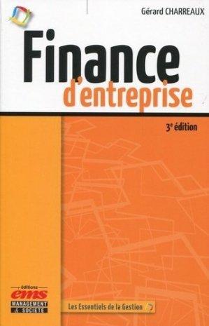 Finance d'entreprise - ems - 9782847696691 -