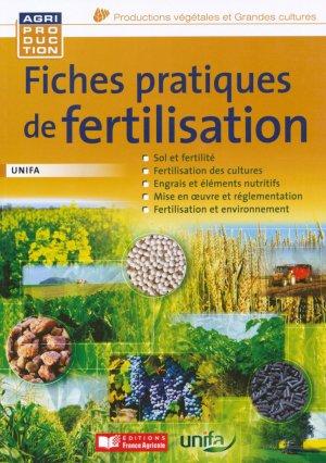 Fiches pratiques de fertilisation UNIFA-france agricole-9782855574844