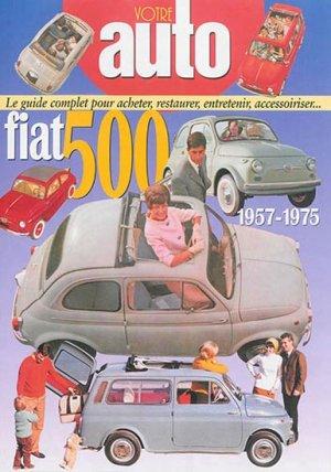 Fiat 500 1957 - 1975 - hb publications - 9782917038376 -