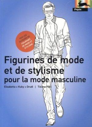 Figurines de mode et de stylisme pour la mode masculine - pepin press - 9789054961581 -
