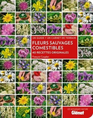 Fleurs sauvages comestibles - glenat - 9782344001219