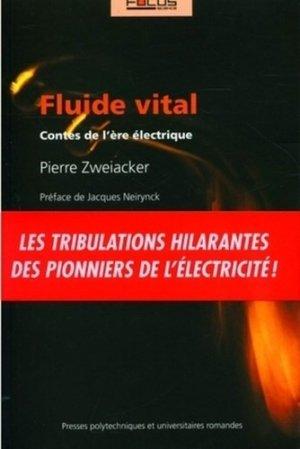 Fluide vital - PPUR - 9782880746599 -