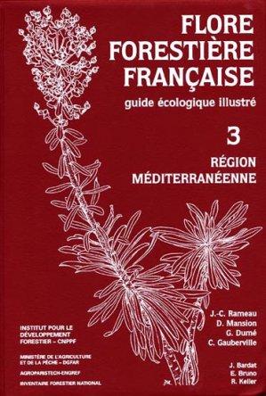Flore forestière française - IDF - 9782904740930 -