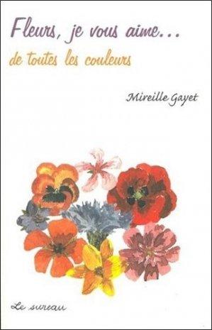 Fleurs, je vous aime... de toutes les couleurs - le sureau - 9782911328299 -