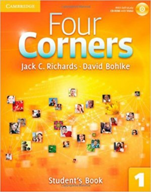 Four Corners Level 1 - Student's Book with Self-study CD-ROM - cambridge - 9780521126151