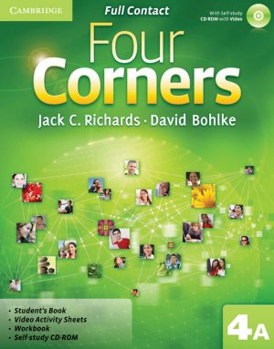Four Corners Level 4 Full Contact A with Self-study CD-ROM - cambridge - 9780521127585