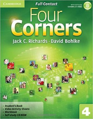 Four Corners Level 4 - Full Contact with Self-study CD-ROM - cambridge - 9780521127615