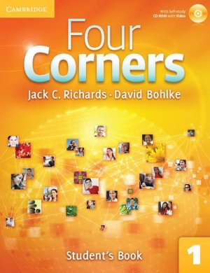 Four Corners Level 1 - Student's Book with Self-study CD-ROM and Online Workbook Pack - cambridge - 9781107641747