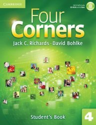Four Corners Level 4 - Student's Book with Self-study CD-ROM and Online Workbook Pack - cambridge - 9781107644038