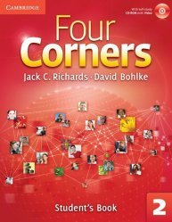Four Corners Level 2 - Student's Book with Self-study CD-ROM and Online Workbook Pack - cambridge - 9781107651760