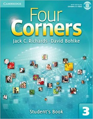 Four Corners Level 3 - Student's Book with Self-study CD-ROM and Online Workbook Pack - cambridge - 9781107664296