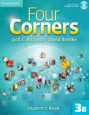 Four Corners Level 3 Student's Book B with Self-study CD-ROM and Online Workbook B Pack - cambridge - 9781107668614