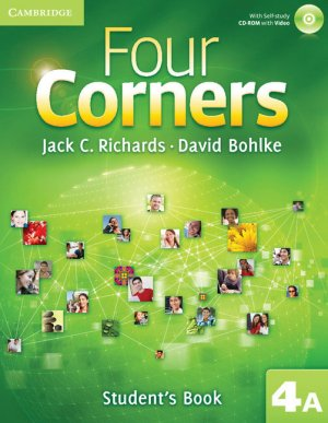 Four Corners Level 4 Student's Book A with Self-study CD-ROM and Online Workbook A Pack - cambridge - 9781107680210