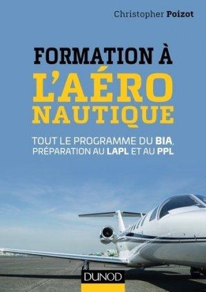 Formation à l'aéronautique - dunod - 9782100775347