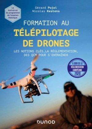 Formation au télépilotage de drones - Dunod - 9782100817290 -