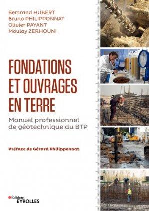 Fondations et ouvrages en terre - eyrolles - 9782212118902 -