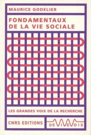 Fondamentaux dans la vie sociale - cnrs - 9782271129444 - livre médecine 2019, livre médicaux 2020, livre médicaux 2019, livres de médecine 2020