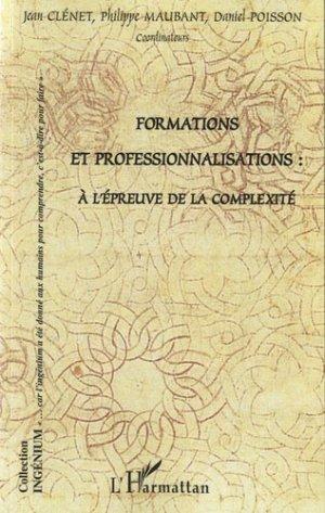 Formations et professionnalisations - l'harmattan - 9782296969322 -