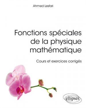 Fonctions spéciales de la physique mathématique - ellipses - 9782340021570 -