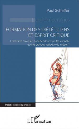 Formation des diététiciens et esprit critique - l'harmattan - 9782343056975