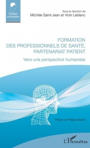 Formation des professionnels de santé, partenariat patient - l'harmattan - 9782343193991 -