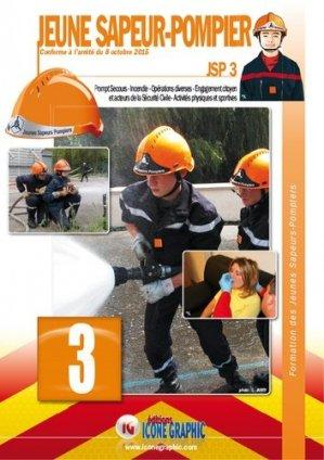 Formation des Jeunes Sapeurs-Pompiers JSP3 - icone graphic - 9782357385023