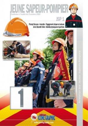 Formation des jeunes sapeurs-pompiers JSP 1 - icone graphic - 9782357385733 -