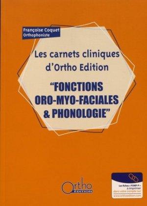 Fonctions oro-myo-faciales & phonologie - ortho  - 9782362351174 -