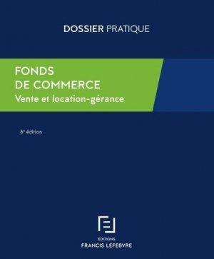 Fonds de commerce - Francis Lefebvre - 9782368935361 -