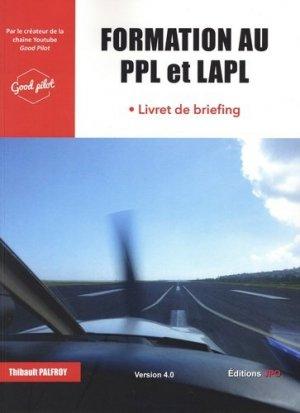 Formation au PPL et LAPL - jpo - jean-pierre otelli editions - 9782373011302 -
