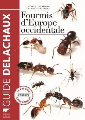 Fourmis d'Europe occidentale - delachaux et niestle - 9782603024300 -