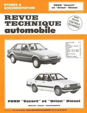 Ford ''Escort'' et ''Orion'' Diesel - etai - editions techniques pour l'automobile et l'industrie - 9782726846728 -