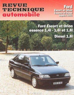 Ford Escort et Orion - etai - editions techniques pour l'automobile et l'industrie - 9782726871713 -
