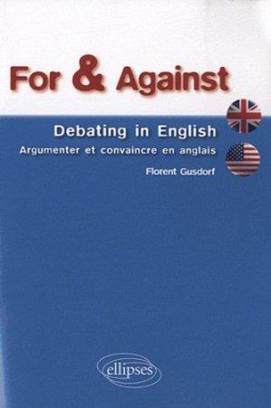 For & Against - Ellipses - 9782729860448 -