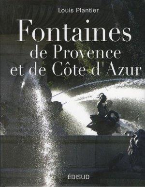 Fontaines de Provence et de Côte d'Azur - Edisud - 9782744907081 -